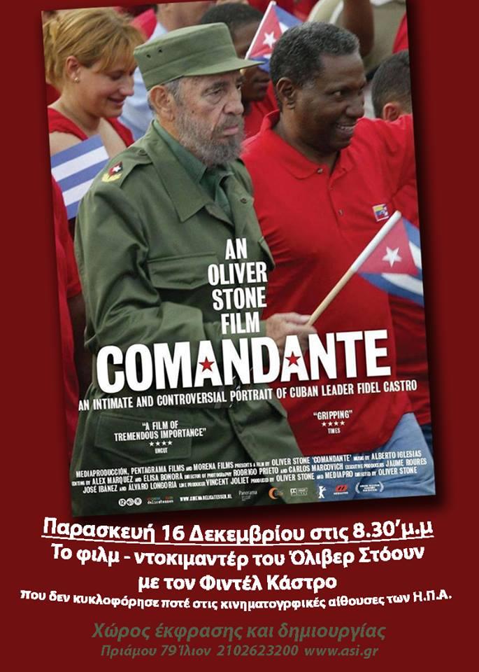 Oliver Stone Movie Comandante